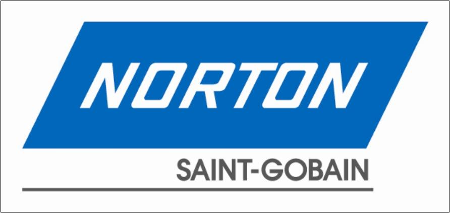 Norton abrasives sga endorsed corporate logo
